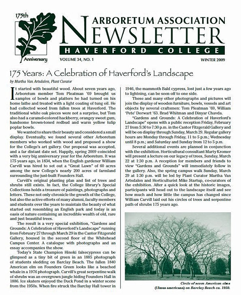 Haverford College Newsletter